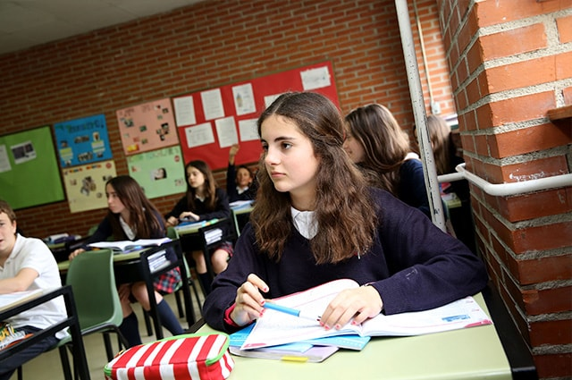 Foto colegio alumna