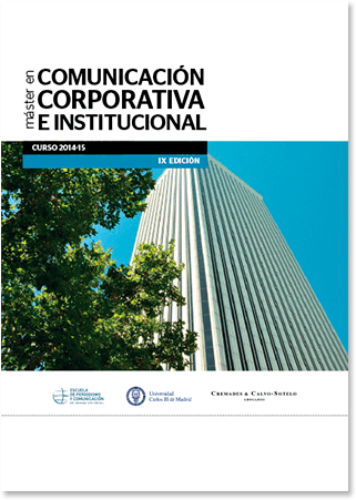 Folleto comunicación corporativa institucional