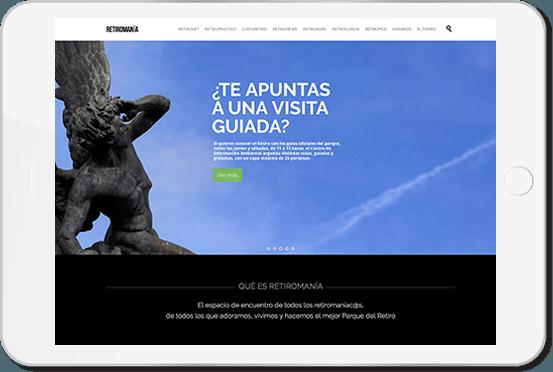 Web ipad retiromanía