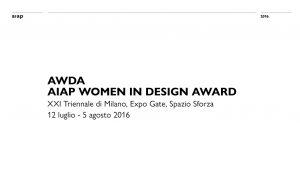 Premio diseño AIAP