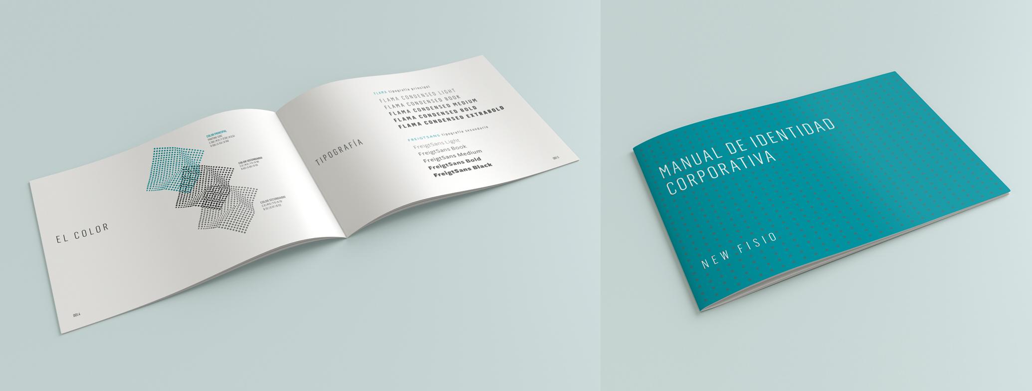 diseño de folleto corporativo para clinica