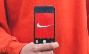 Foto del logo nike para redes sociales