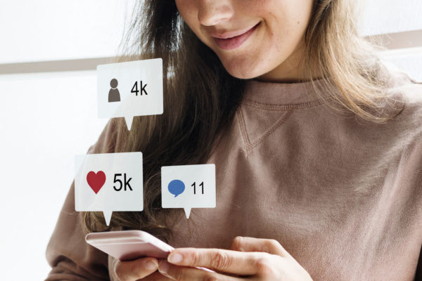 Redes sociales likes
