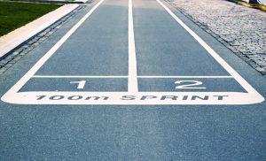 pista de carrera