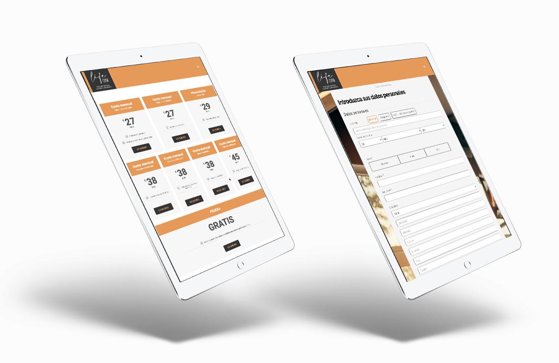 diseño web ecommerce responsive