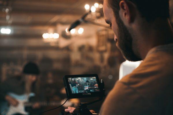 Grabación video con música