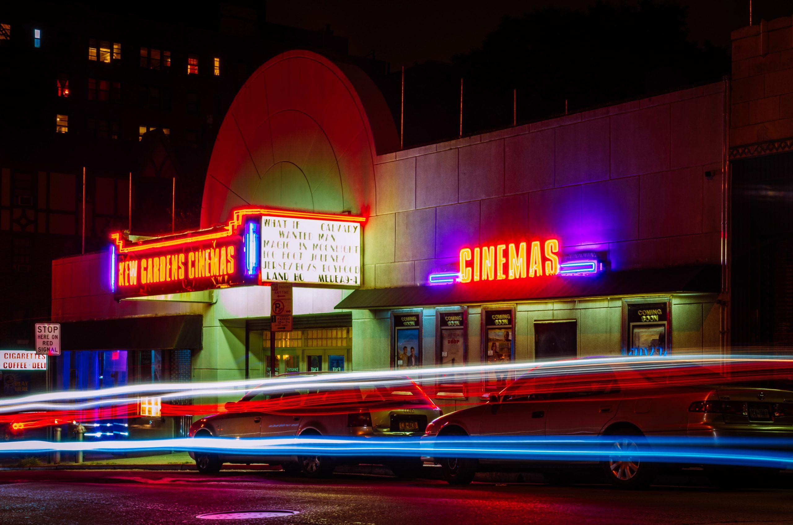 fachada del cine