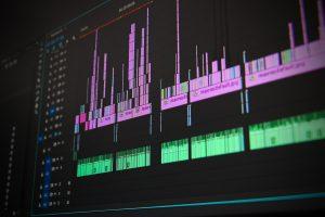 composición premiere video y música